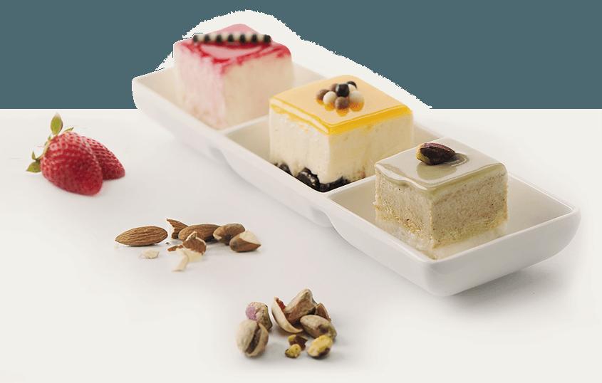 semifreddi doppiozero pastry concept